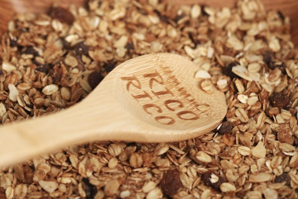 Granola artesana horneada